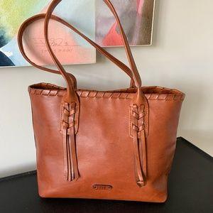 Frye Handbag (Layla Choncho Shopper | Cognac)